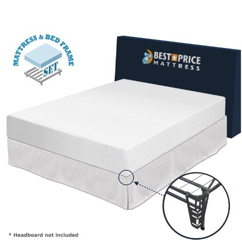King size mattress and frame set